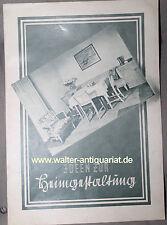 Prospekt 915 Möbelhaus Richard Schmieder Dresden-Altstadt 30er Jahre Möbel 30s