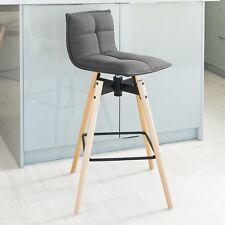 SoBuy® Swivel Kitchen Breakfast Barstool, Pub Bar Bistro Stool Chair,FST45-DG,UK