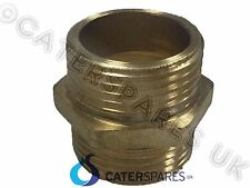 "3/4"" X 3/4"" HEAVY DUTY BRASS JOINING THREADED NIPPLE WASHING MACHINE HOSE JOINT"
