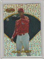 1996 Bowman's Best Previews Atomic Refractor BBP2 Alan Benes St. Louis Cardinals