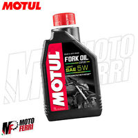 MF2424 - 1LT FORK OIL MOTUL OLIO FORCELLA 5W SINTETICO ROAD & OFF ROAD SAE 5