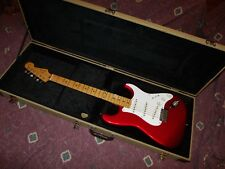 Vintage ca 1987 Fender Japan ST-54 Candy Apple Red Stratocaster VG++ Worldwide