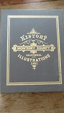 History of Monterey county California with illustrations reprint 1881 oversize