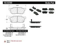 Disc Brake Pad Set-C-TEK Metallic Brake Pads Centric fits 84-87 Honda Civic