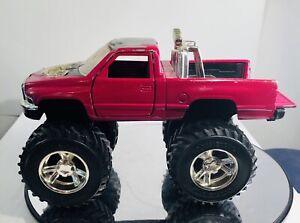 Tootsietoy Dodge Ram  Earthquake 4 Wheel Drive Pressed Steel Truck