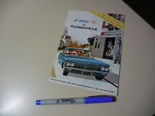 OLDSMOBILE F-85 US Brochure TORN