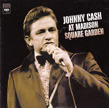 "CD ALBUM  JOHNNY CASH  ""AT MADISON SQUARE GARDEN"""