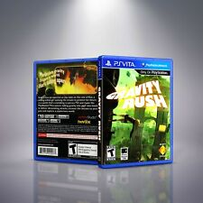 Gravity Rush - PlayStation Vita Cover and Case. NO GAME!!