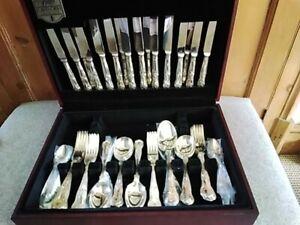 Cutlery Set Cavendish Butler of Sheffield Kings pattern