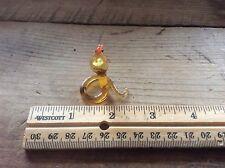 Blown Glass  Hooded Cobra   , Miniature , Collectible Knick Knack , Art Glass