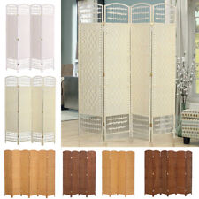 Stylish Bedroom Fitting Room Privacy Screen Room Divider Foldable 4 / 6 Leaf