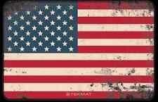 """USA Old Glory BANDIERA AMERICANA PISTOLA ARMORARI Pistol CLEANING MAT 11""""x17"""" TekMat"""