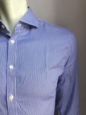Charles Tyrwhitt Shirt, Hazy Gingham, L (16, 33), Non-Iron X-Slim Fit, EUC