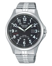 Pulsar Solar Black Dial Men's Watch PX3069