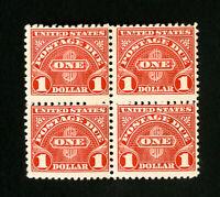 US Stamps F+ Block 4 OG NH Catalog Value $260.00