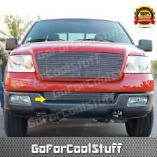 FOR FORD 2004-2005 F-150 REPLACEMENT BUMPER BOLTON BILLET GRILLE INSERT