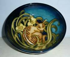 Beautiful MOORCROFT Limited Edition Bowl - FALLOW DEER by Kerry Goodwin