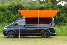 VW T4/T5/T6 Wasserdich Vordach / Markise / Sonnensegel - Glänzenden Orange