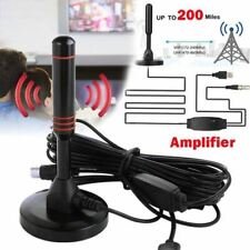 More details for new hd digital indoor amplified tv antenna 200 miles ultra hdtv with amplifier v