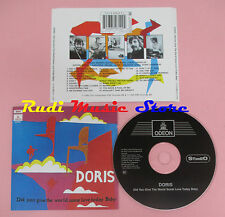 CD DORIS Did you give the world some love today baby 1996 holland EMI lp mc dvd