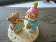 """A Day To Remember Russ Berrie Bears Birthday 3x2 1/2"""" Figurine"""