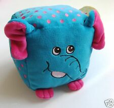 SOFT SQUIDGY ACTIVITY CUBE BY FIESTA CRAFTS - ELEPHANT - AGE: FROM BIRTH - NEW!