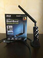Asus USB-AC56 Adattatore USB 3.0 WiFi AC1300 Dual Band