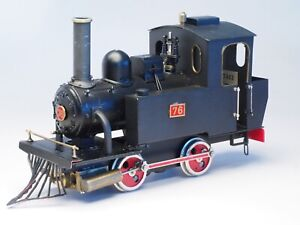 Aster Model Live Steam Locomotive OLD FAITHFUL with new burner & extra tank cars