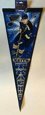 ST.LOUIS BLUES KEITH TKACHUK NHL HOCKEY AUTHENIC VINTAGE PLAYER PENNANT NEW MINT