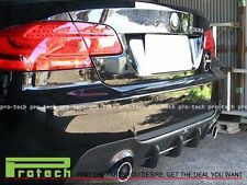 07-13 BMW E92 E93 335i 2Dr M-Tech DP Type Rear Bumper Lip Diffuser CF