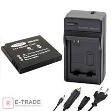 Battery + CHARGER DMW-BCK7E for Panasonic Lumix DMC-FS14 FS16 FX80 FH2 FH4 S1