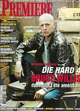 PREMIERE Nº364 JUNIO 2007 WILLIS/ PERSEPOLIS/ REGNIER/ MA/ BASHUNG/ CANNES