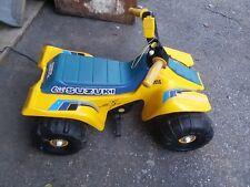 Vintage Lil Suzuki Power Wheels Quad Four Wheeler ATV Ride On Toy works