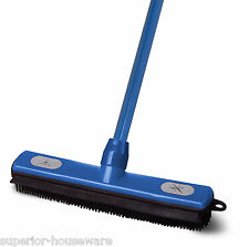 "Superior Performance Rubber Broom (54"" Handle) - 217"