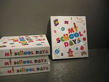 LOT OF 3  / MY SCHOOL DAYS SCRAP BOOK K THRU 5