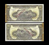 Brésil -  2x 500 Mil Reis - Edition L. 4635 - 08.01.1923 - Reproduction - 24