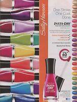 Sally Hansen Insta Dri nail polish / varnish many shades - rare cheapest on Ebay