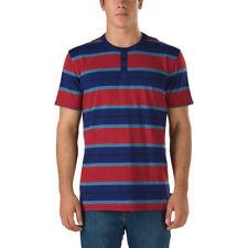 NWT VANS MENS (RICHFIELD) SKATE HENLEY TEE T SHIRT DRESS BLUES SZ X-LARGE XL