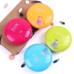 Rotating 7 Days Weekly Tablet Pill Medicine Box Holder Storage Organizer Box UK