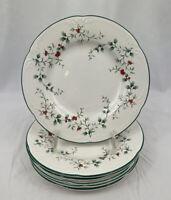 Pfaltzgraff Winterberry Salad Plates Set 7 Holly USA