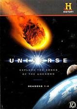 The Universe Megaset Seasons 1 – 4 (56 episodes) New/Unsealed Region 1