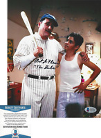 ART LAFLEUR SIGNED THE SANDLOT 'BABE RUTH' 8x10 MOVIE PHOTO F BECKETT COA BAS