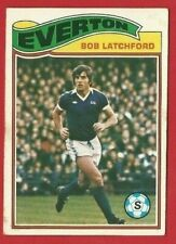TOPPS FOOTBALLERS 1978 - ORANGE BACK TRADE CARD 310 - BOB LATCHFORD  (OK03)