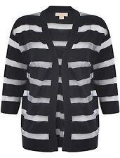 3/4 Sleeve Regular Striped Jumpers & Cardigans for Women