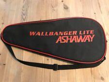Ashaway Racket ball squash Single Racket Bag Brand New Black Red Wallbanger