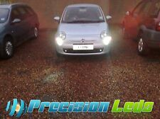 Xenon White High Power CREE LED Light Bulbs For Fiat 500 Daytime Running Lights