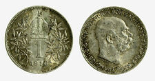 pcc2128_109)  Franz Joseph I 1 Korona 1916 AG