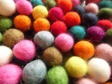 Bolas de fieltro, 1/5 cm 50 Pack, Colores Mezclados