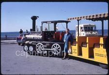 Miniature Conch Tour Train & Ice Cream Truck Key West FL Vtg 1969 Slide Photo