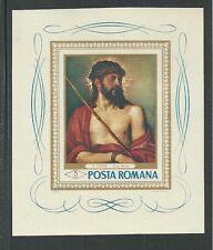 ROMANIA # 2006 MNH PAINTING, ECCE HOMO BY TITIAN Souvenir Sheet